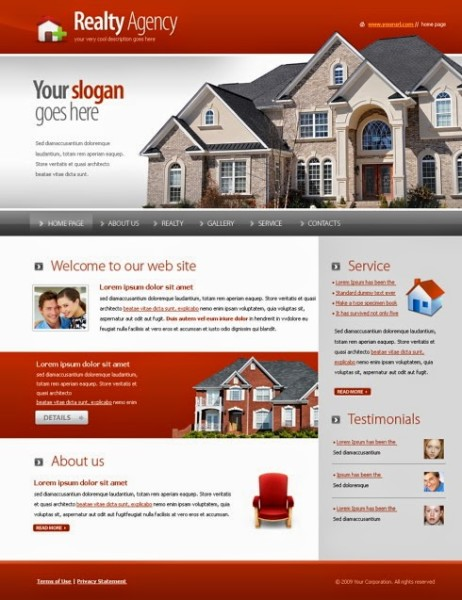 Realty Agency Html Template