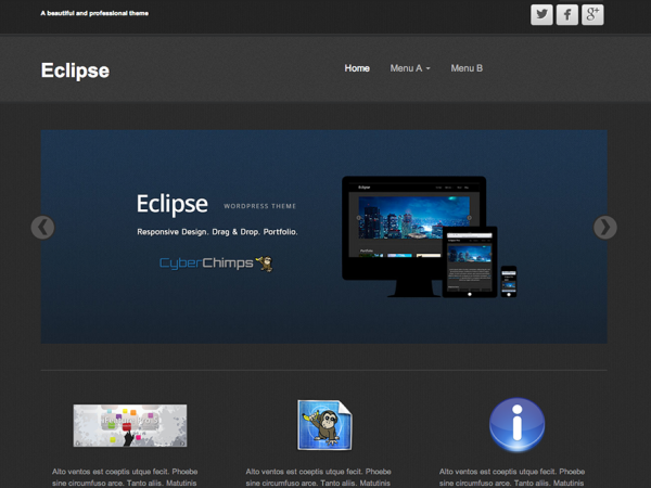 Eclipse WordPress Themes