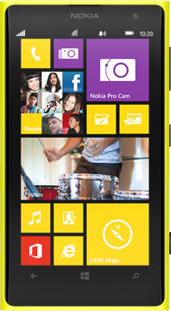 NOKIA LUMIA 1020 SMARTPHONE WITH 41-MEGAPIXEL CAMERA