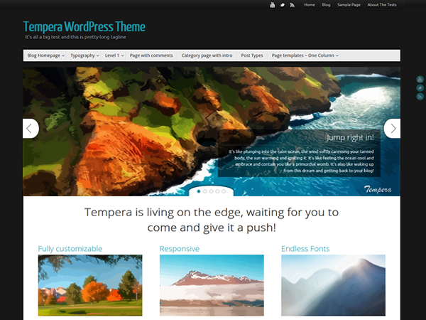 Tempera WordPress Themes
