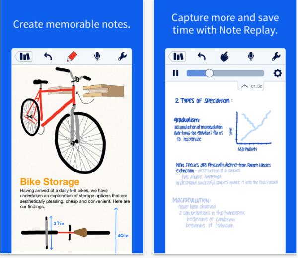 Notability  ios app
