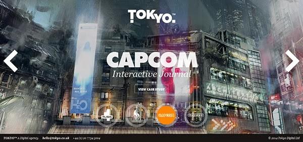 tokyo capcom interactive journal