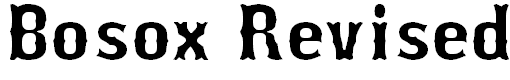 bosox free baseball fonts