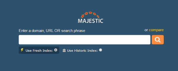 majestic backlink checker and seo tools