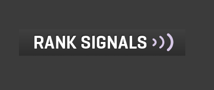 rank signals backlink checkere