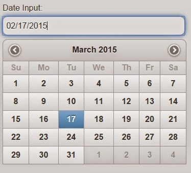 jQuery UI's Datepicker Styled for mobile