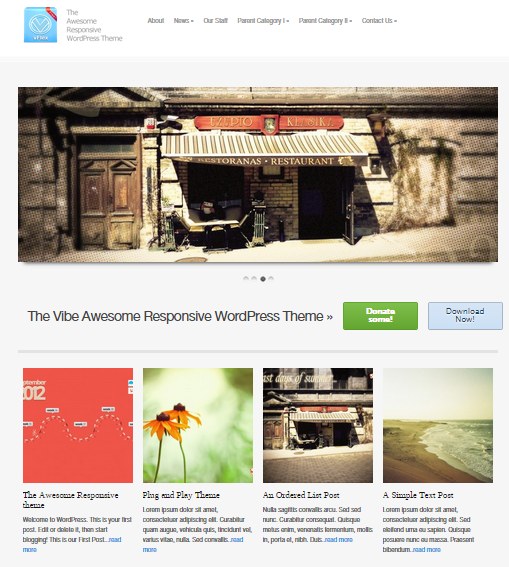 vflex free wordpress theme