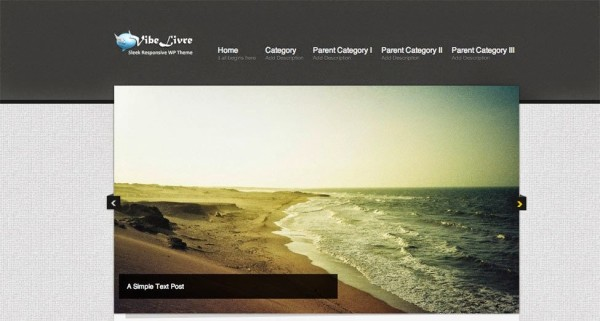 vibelivre free wordpress theme