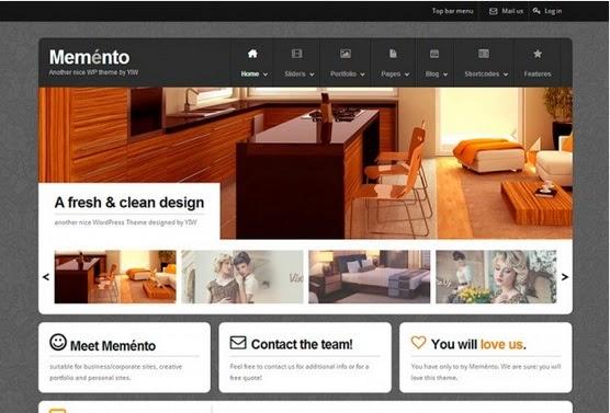 MEMENTO free ecommerce wordpress themes