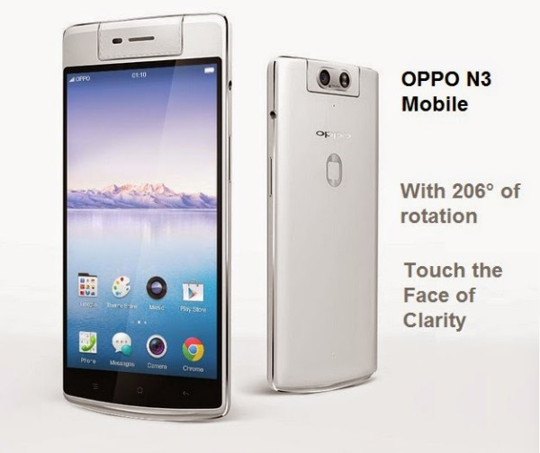 OPPO N3 Mobile Phone By OPPO Company