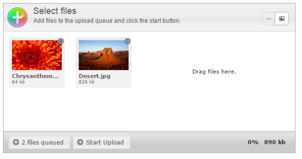PlUpload Jquery UI File Upload Premium