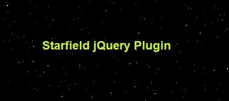 Starfield jquery animation plugin