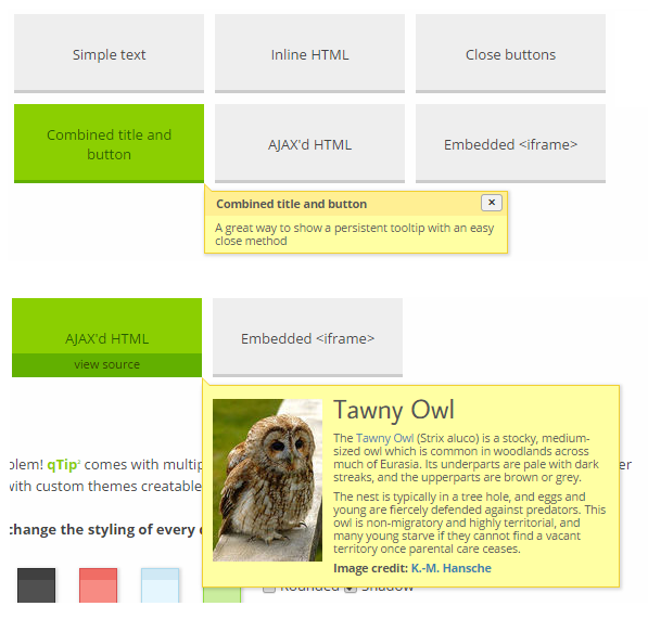 BEST JQUERY PLUGINS FOR TOOLTIP