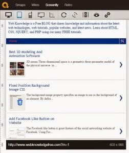 quirktools emulator online webiste testing tool