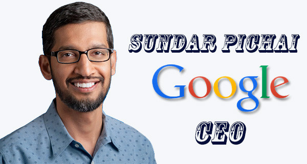 SUNDAR PICHAI IS NEW GOOGLE CEO