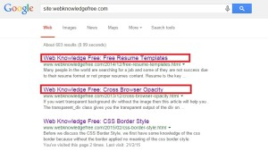 google search display wrong title when problem in blog meta title