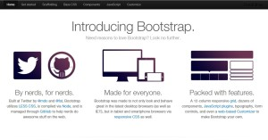 Bootstrap a powerful front-end framework