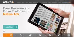 Earn revenue from admedia ad publishers network