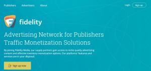 Fidelity Media Network for Publishers