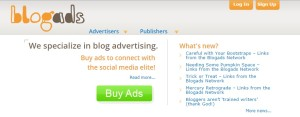 blogads ads publishers network