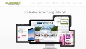 clicksor contextual advertising network