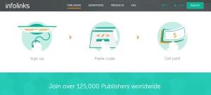 infolinks Network for Publishers