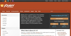 jqueryui - Jquery UI Framework