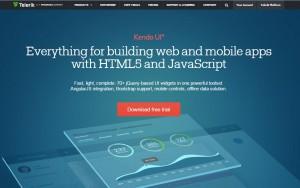 kendo-ui HTML5 framework
