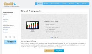 zinoui- Jquery UI Framework