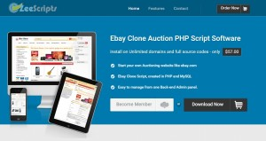 zeeauctions auction scripts like ebay store