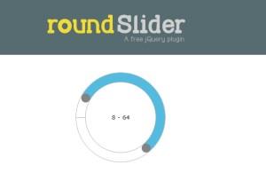 Roundsliderui free jquery plugin