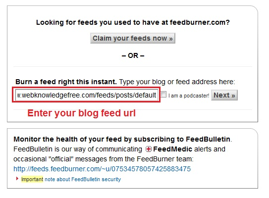 How To Configure Google Feedburner Email Subscription For Your Blog