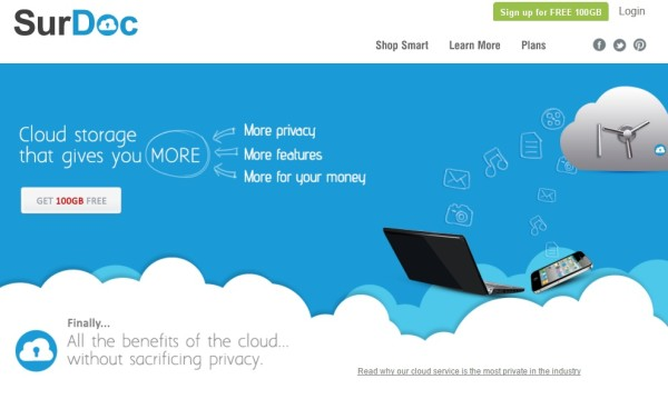 surdoc - cloud storage solution for document backup