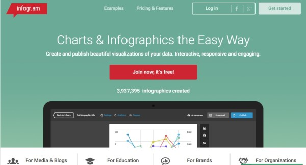 infogr.am-online charts and infographic maker