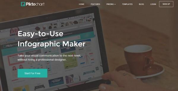 piktochart - infographic maker for business marketing