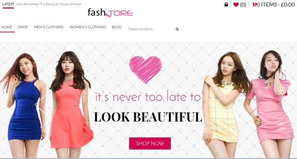 Fashstore - wordpress responsive wooccmmer theme for fashion store