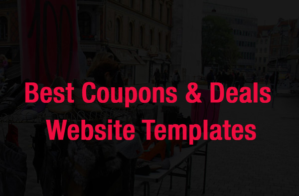Best coupons and deals templates to start your own coupon website
