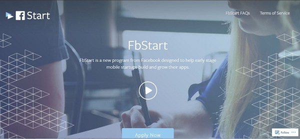 Facebook designed FbStart Program For Startup Mobile App Developer