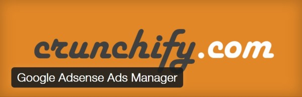 Google Adsense Ads Manager wordpress plugin