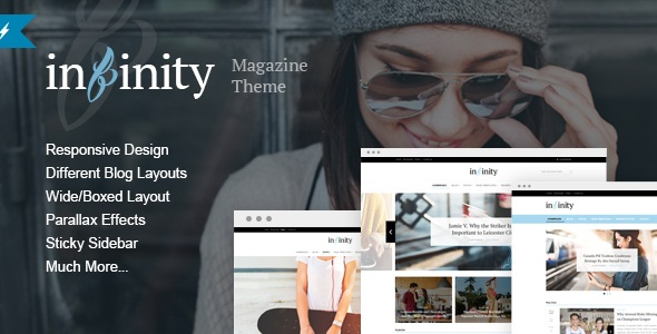 Infinity - Your Lifestyle News WordPressTheme