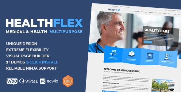 Medical & Health WordPress Theme - HEALTHFLEX