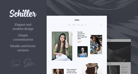 Schiller – Personal Blog Premium WordPress Theme