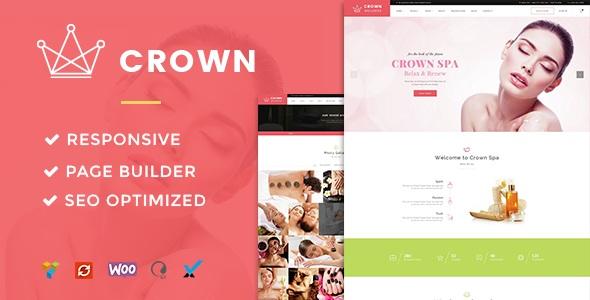 Spa & Beauty Salon WordPress Theme - Crown