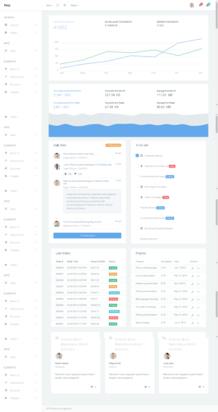 Rexy - Admin Dashboard Template