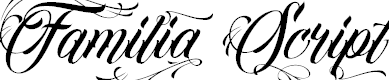 Familia Script by Letrasupply Typefoundry