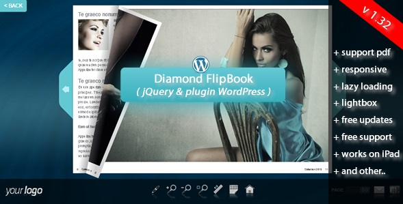 Flipbook WordPress Plugin Diamond