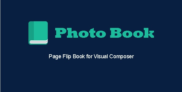 Photo Book - Page Flip Book for Visual Composer