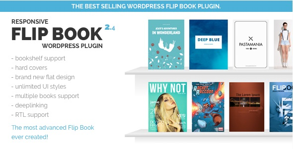 Responsive FlipBook Plugin