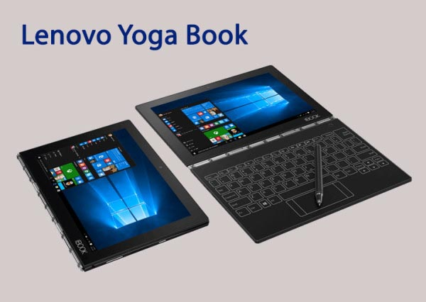 Yoga Book – The Ultimate 2-in-1 Windows Productivity Tablet