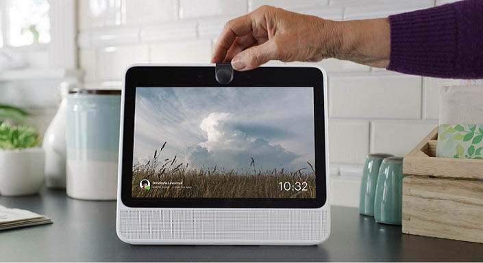 facebook portal device for hands free video calling
